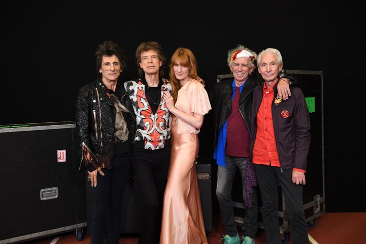 Rolling Stones i Florence Welch (Andrew Timms / Universal Music)