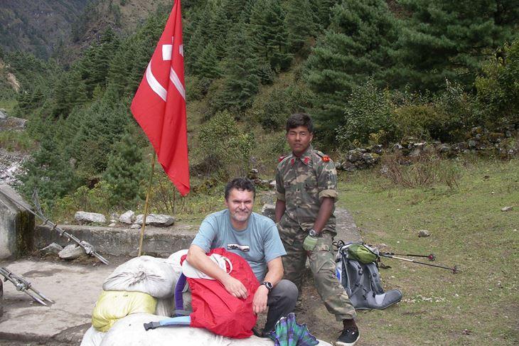 Darko Berljak s nepalskim maois tom