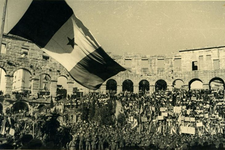 Oslobođenje Pule (Foto: Istarsko povijesno društvo)