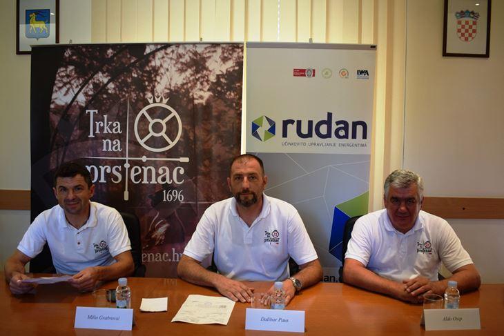 Bogat program 44. Trke najavili su Milio Grabrović, Dalibor Paus i Aldo Osip
