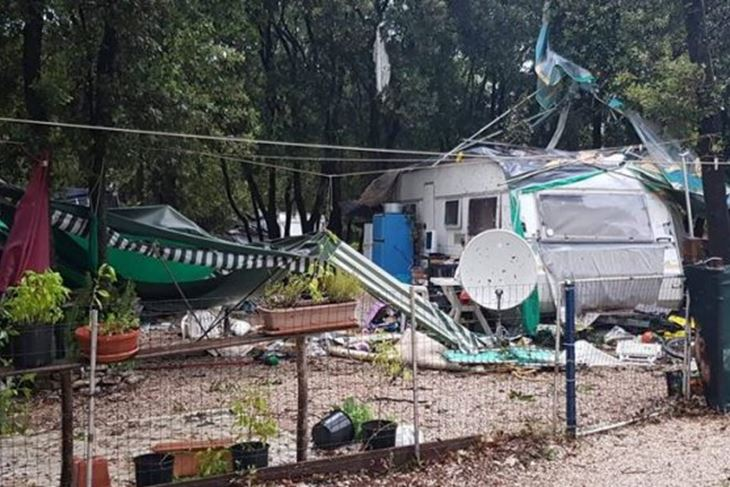 Kamp Mon Perin kod Bala, (foto: Robert Dremšak)