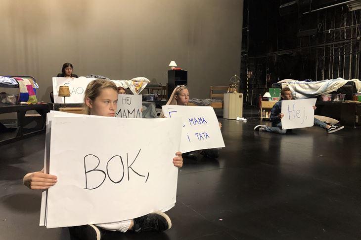 S proba predstave (Aleksandar BANČIĆ)