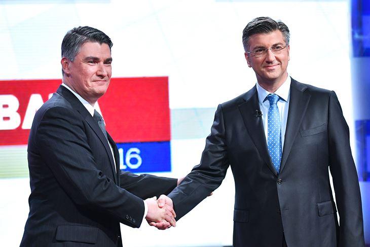 Zoran Milanović i Andrej Plenković (Cropix)