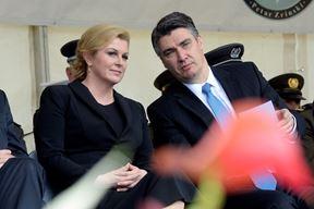 Kolinda Grabar-Kitarović i Zoran Milanović (Goran MEHKEK/CROPIX)