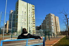 Novo igralište dobro je okupljalište za djecu, ali nije centar kvarta (Danilo MEMEDOVIĆ)