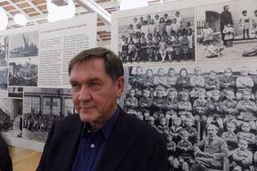 Elio Velan na otvaranju izložbe (N. O. R.)