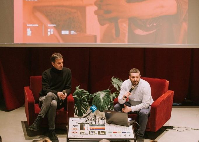 Predstavljanje platforme www.croatian.film  (Samir Cerić Kovačević)