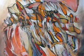 """Mladen Milotić - """"Leptir"""", ulje na platnu, 1998."""