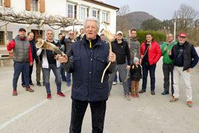 Najstariji igrač, 85-godišnji Milan Ošo (Gordana ČALIĆ ŠVERKO)