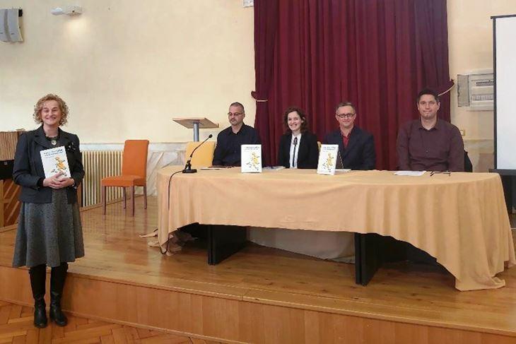 Lina Pliško, Mihovil Dabo, autorica Giovanna Jerolimić, Slaven Bertoša i Marko Jelenić