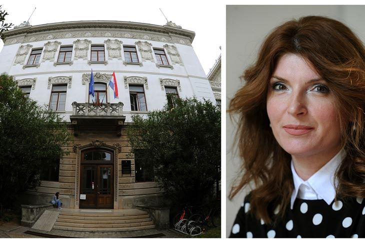 Studenti i nastavnici ne dolaze u prostore Sveučilišta / Mirjana Radetić-Paić, prorektorica (Milivoj MIJOŠEK)