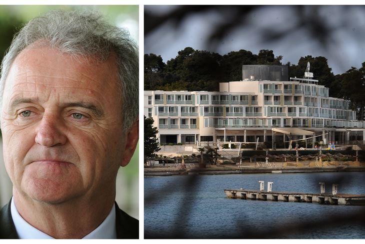 Veljko Ostojić (HUT)/Valamarov hotel na otoku Svetog Nikole kod Poreča (Milivoj MIJOŠEK)
