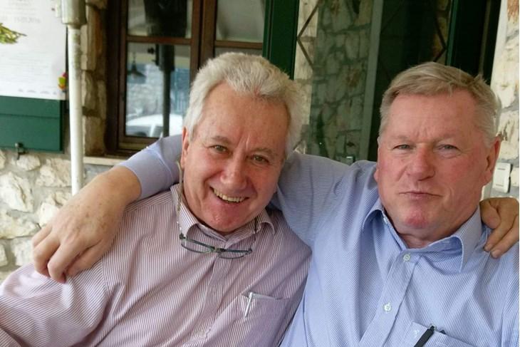 Kumovi - Nino Kernjus i Guido Shwengersbauer