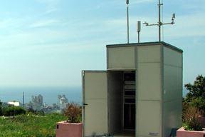 Automatska postaja za mjerenje zraka Koromačno Brovinje ZZJZIŽ