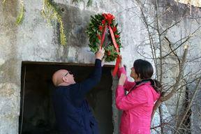Nikola Medelin i Tajana Ujčić položili su vijenac u Gojaku