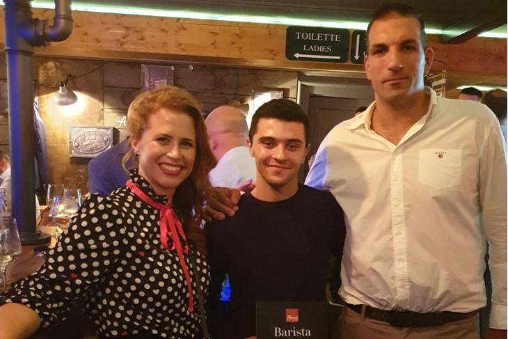 Ivana Burić, barista Boris i Damir Burić
