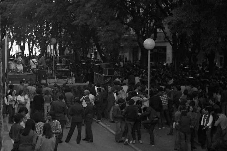 Pulski Korzo 1981. godine (Arhiv Zlatka Gotovca)
