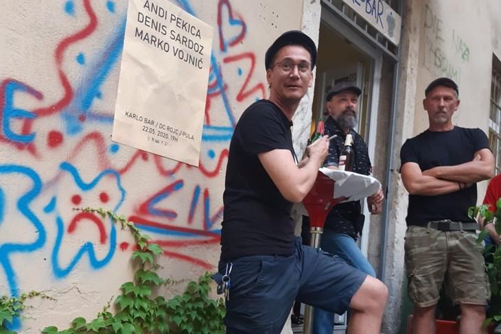 Marko Vojnić, Andi Pekica i Denis Sardoz (Z. ANGELESKI)