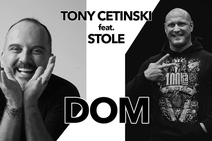 """""""Dom"""" je proizašao iz suradnje Tonyja Cetinskog i repera Marina Ivanovića Stoleta"""