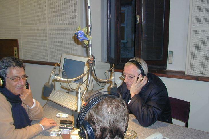 Sven Dukić i Oliver Dragojević u starom studiju (Arhiva)