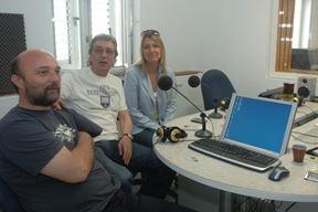 Edi Koler, Sven Dukić i Jadranka Nišević - AT klub (Arhiva)