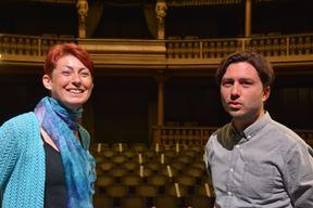 Rosanna Bubola i Matija Debeljuh na probi za predstavu u pulskom kazalištu (Neven LAZAREVIĆ)