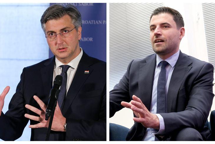 Boris Miletić i Davor Bernardić (Milivoj MIJOŠEK / Darko JELINEK)
