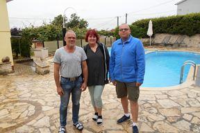 Obitelj Sauerland iz Dortmunda na ljetovanju u Kašteliru (Davor ŠIŠOVIĆ)