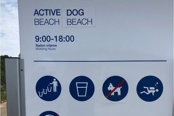 Turisti sa psima na rabačkoj plaži za nudiste (Branko BIOČIĆ)