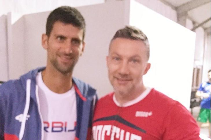 Đoković i Kolec (Foto: Facebook)