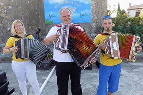 Trio Kunfin: Valentina Carpenetti, Damir i Silvio Ugrin (Gordana ČALIĆ ŠVERKO)