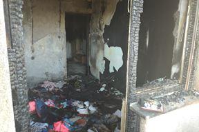 Potpuno izgorjela dječja soba, uništen čitav stan