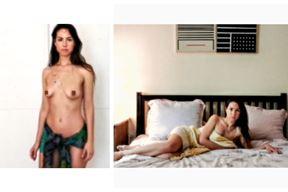 Anna Aigner u projektu WhateverClicks, jedini je model kojeg je Banerjee kontaktirao iz Hrvatske (Ritam Banerjee)