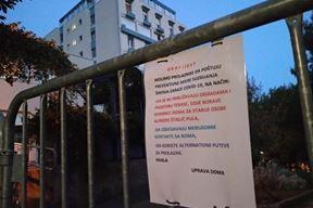 Neki ne razumiju potrebe korisnika Doma pa preskaču ograde, unatoč upozorenjima (Duška PALIBRK)