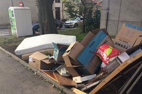 Krupni otpad posvuda, uz kante i mimo njih (Borka PETROVIĆ)