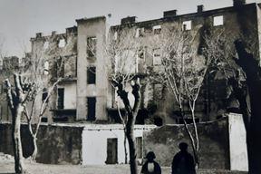 Narodni dom nakon uništenja (Povijesni i pomorski muzej Istre)