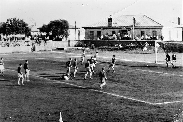 Uzvratna kvalifikacijska utakmica na Krimeji: Orijent - Uljanik 0:3, 1959. godine