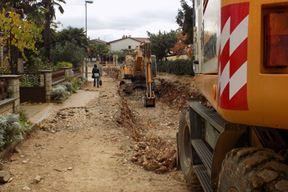Optički kablovi protežu se duž naselja Monfiorenzo