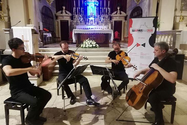 Zagrebački kvartet u rovinjskoj crkvi sv. Franje