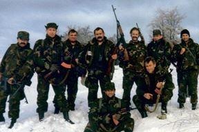 """Pripadnici Prve domobranske bojne """"Pula"""" na ratištu u Lici"""