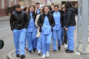 Par mjesta ostalo jer kandidati iz Slavonije nisu našli mjesto u Učeničkom domu - mladi medicinari (Milivoj MIJOŠEK)