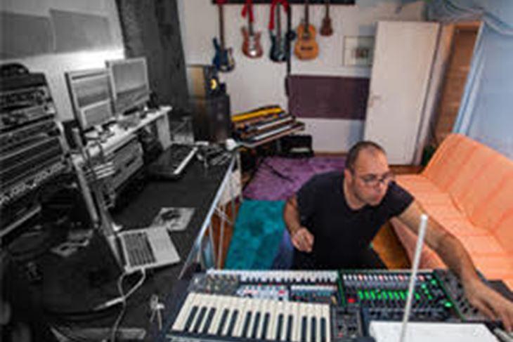 Marko Jovanović u svom studiju