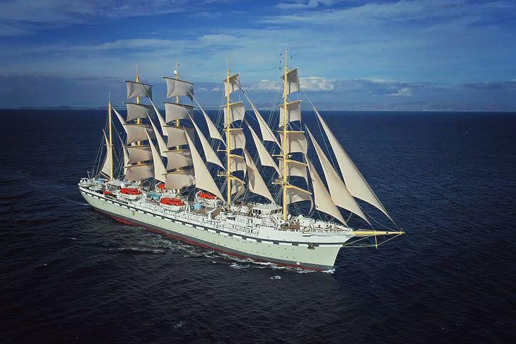 Golden Horizon najveći je jedrenjak na svijetu s križnim jedrima, a izgrađen je u Brodosplitu