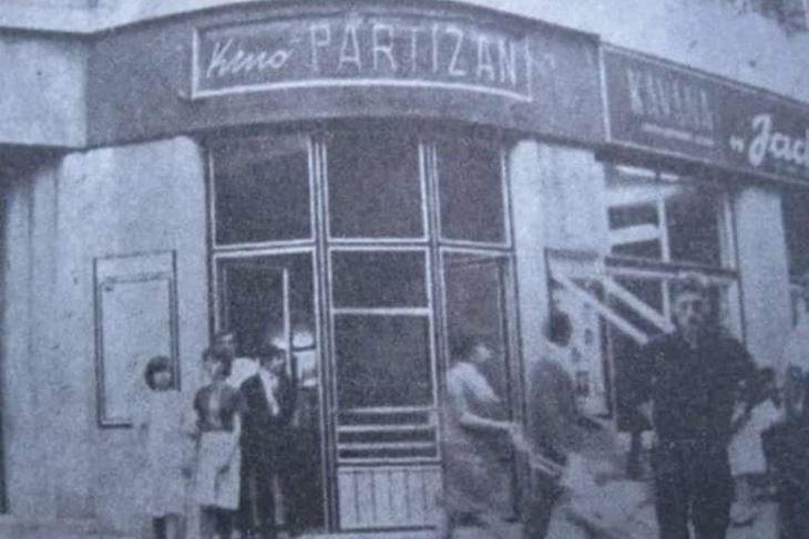 Kino Partizan u Puli (Arhiva)