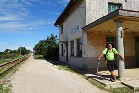 Na stanici u Savičenti na putu za crkvu Sv. Petra (E. SEFERAGIĆ)