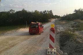 Buduće raskrižje obilaznice i lokalne ceste Lindar - Žminj (Anđelo DAGOSTIN)