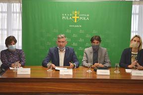 Danijela Lazarić Zec, Boris Miletić, Aleksandar Stojanović i Elena Puh Belci