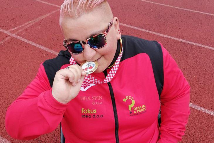 Puljanka Jelena Vuković državna je prvakinja u bacanju diska (AK Spektar)