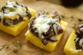 Pločice palente sa sirom i gljivama