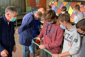 Osnovnoškolci na radionici strojarstva za zanimanje instalater - monter